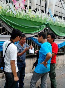 Pak Guru Muai Thai beri Pengarahan