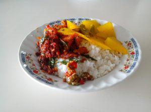 Seporsi makan Siang