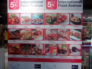 Internatioan Food Venue ada 1 Counter Jimbaran Bali