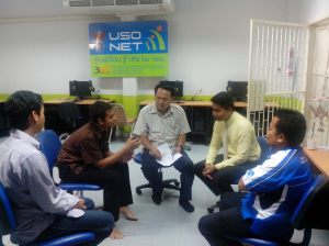 Discuss With Director dan Supervisor Banraidon School