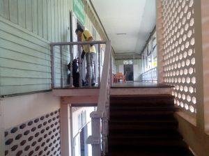 Tangga, lantai 2