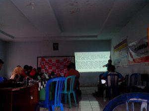 Pelatihan Cara Menulis artikel di Web Desa